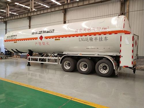 LNG低温液体运输半挂车